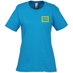 Anvil 4.5 oz. Ringspun Fashion-Fit T-Shirt- Ladies' - Colors
