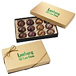 Truffles - 12 Pieces - Gold Box