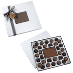 Chocolate Bites - 1 lb. - Silver Box