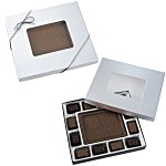 Chocolate Bites - 8 oz. - Silver Box