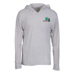 Next Level Tri-Blend Hoodie - Embroidered - White