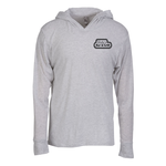 Next Level Tri-Blend Hoodie - Screened - White