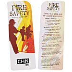 Just the Facts Bookmark - Fire Safety - 24 hr