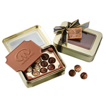 Chocolate Box w/Truffles - Large