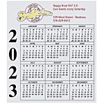 Bic 20 mil Calendar Magnet - Small - 24 hr