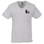 Next Level Tri-Blend V-Neck T-Shirt - Men's - White