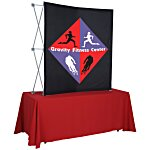 Splash Curved Tabletop Display - 5' - Front Graphics