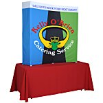 Splash Curved Tabletop Display - 5' - Wrap Graphics