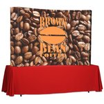 Splash Curved Tabletop Display - 7' - Wrap Graphics