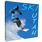 Splash Floor Display - 7' - Wrap Graphics