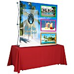 Splash Tabletop Display - 5' - Front Graphics
