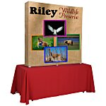 Splash Tabletop Display - 5' - Wrap Graphics