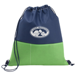 Patch Pocket Drawstring Sportpack - 24 hr