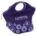 Ella Neoprene Lunch Cooler - Flowers