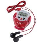 Pinnacle Pedometer Radio - Closeout