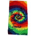 Tie Dye Beach Towel - Swirl