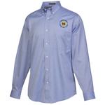 Wrinkle-Free Pinpoint Dress Shirt - Men's