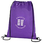 Promotional Drawstring Sportpack - 24 hr
