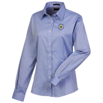 Wrinkle-Free Pinpoint Dress Shirt - Ladies'