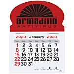 Peel-n-stick Calendar - Oval