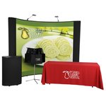 Deluxe Curved Quick Start Kit - 10' - Mural Center-250 Totes