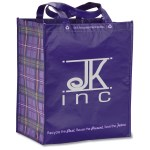 Expressions Grocery Tote - Purple
