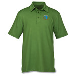 Maze Stretch Embossed Print Polo - Men's