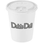 Paper Hot/Cold Cup with Tear Tab Lid - 10 oz. - Low Qty