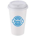 Paper Hot/ Cold Cup - 16 oz. w/Traveler Lid - Low Qty