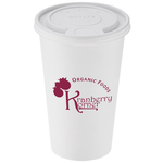 Paper Hot/Cold Cup with Tear Tab Lid - 16 oz.