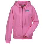Gildan Full-Zip Hoodie - Ladies' - Embroidered