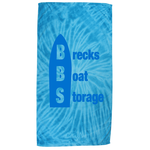 Tie Dye Beach Towel