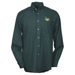 Soil Release Button Down LS Poplin Shirt - Men's - 24 hr