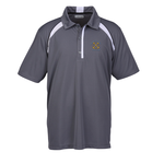 Quinn Color Block Textured Polo - Men's