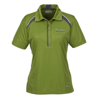 Quinn Color Block Textured Polo - Ladies'