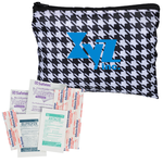 Fashion First Aid Kit - Houndstooth - 24 hr