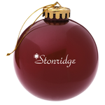 Made in USA Round Ornament – Opaque