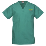 Cornerstone Reversible V-Neck Scrub Top - Embroidered