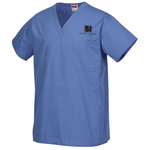 Cornerstone Reversible V-Neck Scrub Top - Screened