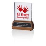 Commitment Acrylic Award - 7