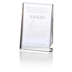 Distinction Crystal Award - 6