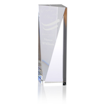 Skyline Sheared Crystal Tower Award - 8