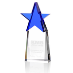 Colorful Star Crystal Award