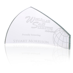Pennant Starfire Glass Award - 4