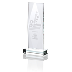 Captivate Starfire Glass Award - 9