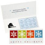 Greet n Keep Calendar Card - Happy Holidays