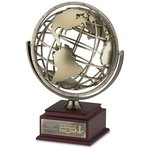 Spinning Globe Achievement Award