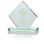 Diamond Jade Glass Award - 5
