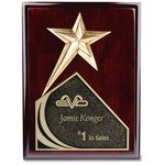 Soaring Star Plaque - 10