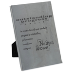 Slate Prestige Plaque - 7